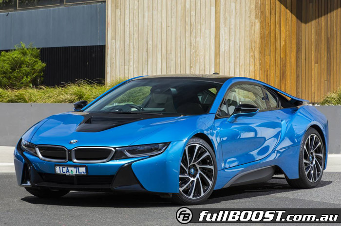 Bmw I8 Sustainable Sports Car Arrives In Australia
