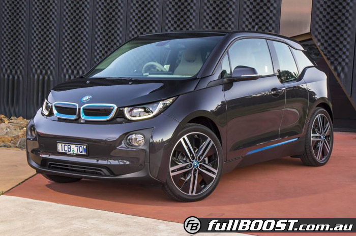 Revolutionary electric BMW i3 arrives in Australia