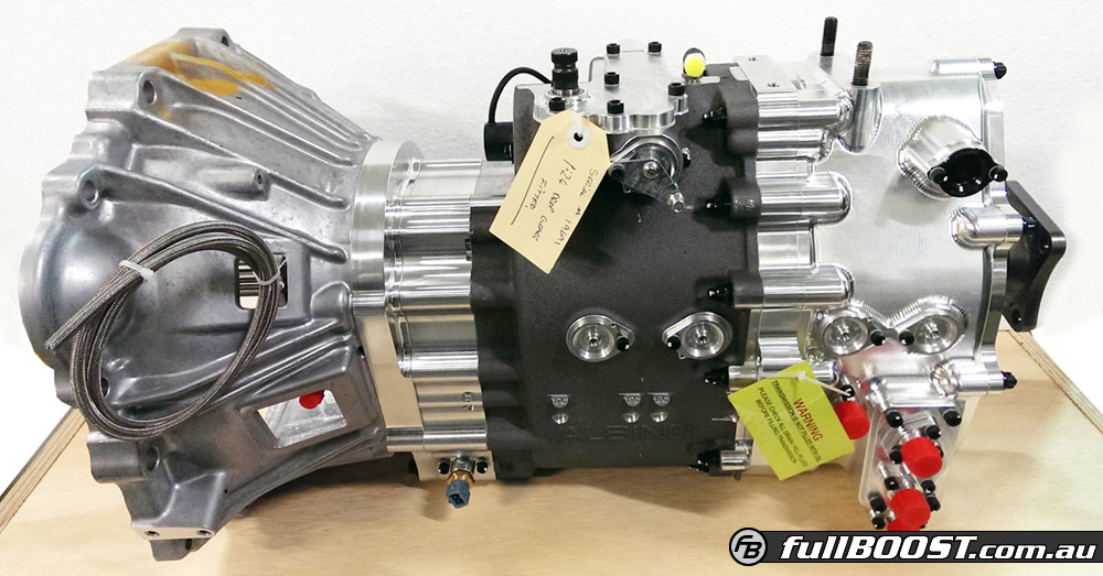 Albins Launch Toyota 2JZ 6 Speed Sequential